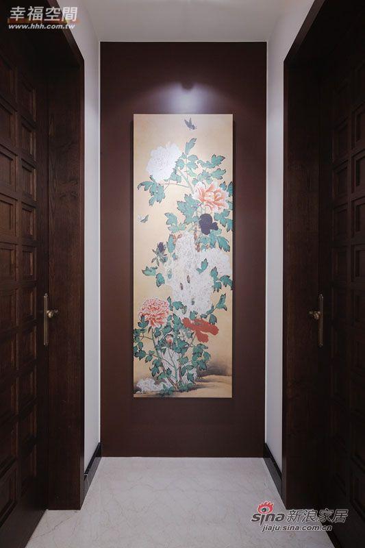 美式 三居 玄关图片来自幸福空间在纯粹质调 流露奢华内敛风采18的分享