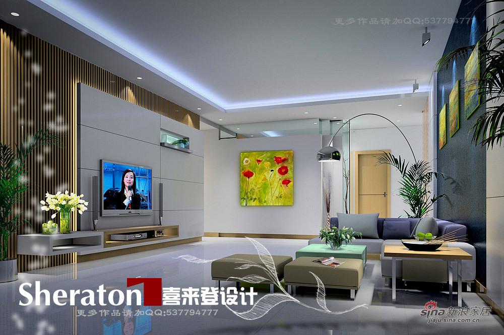 简约 一居 客厅图片来自用户2738829145在蓝色天使80的分享