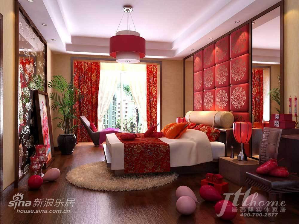 地中海 三居 卧室图片来自用户2756243717在完美婚房!古典气息超诱人88的分享