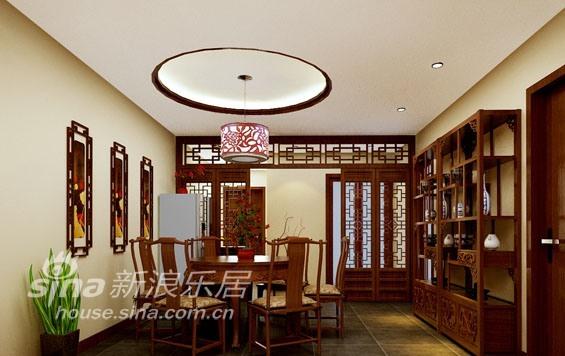 中式 二居 餐厅图片来自用户2748509701在中式风格混搭的简约新格局34的分享