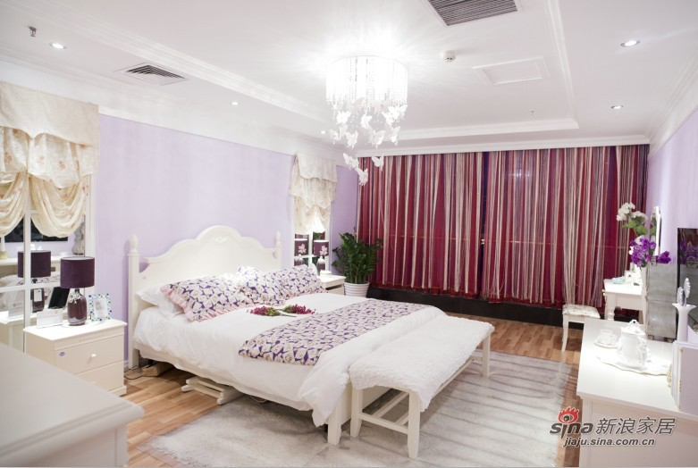 简约 二居 卧室图片来自用户2738845145在韩式小屋实景图78的分享