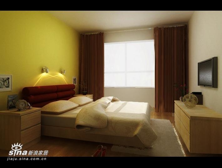 简约 一居 卧室图片来自用户2558728947在北京新天地现代简约设计64的分享