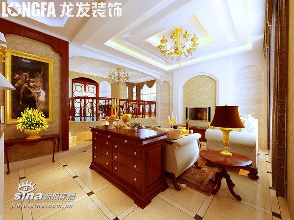 欧式 别墅 客厅图片来自用户2745758987在高调却不张扬,华丽而不累赘73的分享