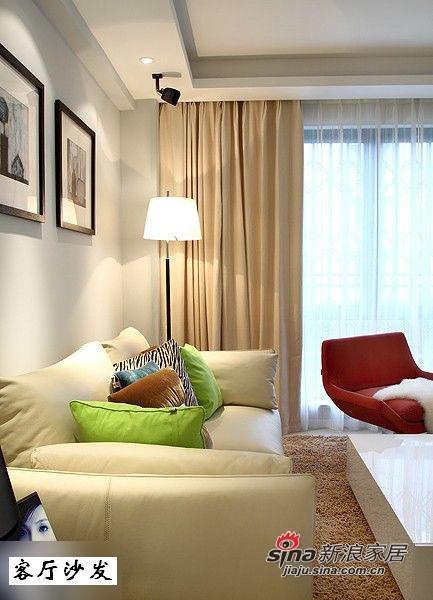 简约 三居 客厅图片来自用户2556216825在实景秀110平时尚简约系乐活家66的分享