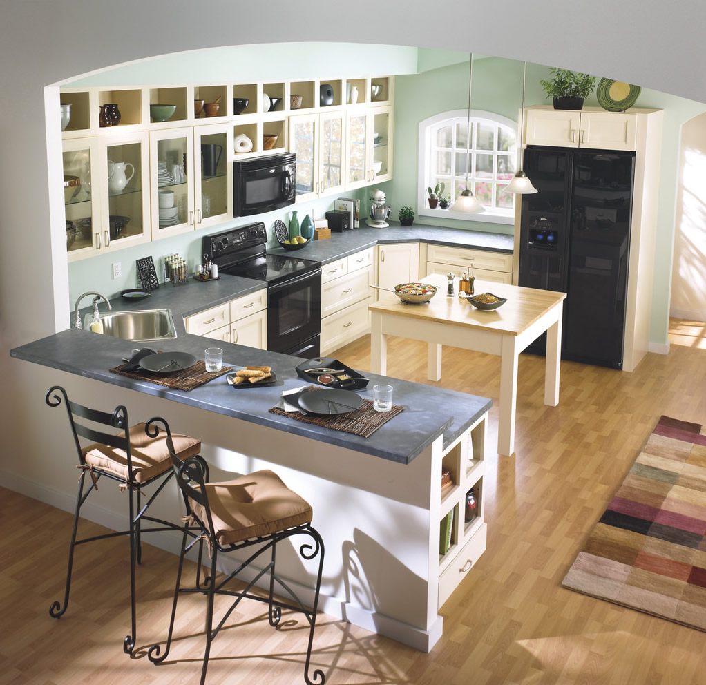 厨房 田园 北欧图片来自用户2771736967在简单而自然 17个北欧乡村风格厨房装修的分享