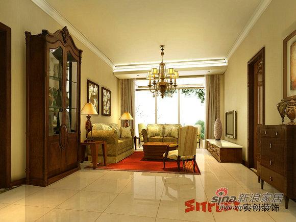 欧式 三居 客厅图片来自用户2746889121在简欧构造世华水岸尊贵气息66的分享