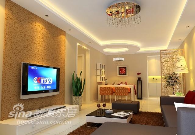 简约 一居 客厅图片来自用户2559456651在145平典型简约型爱家17的分享