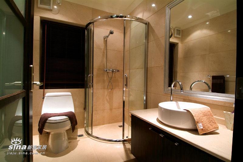中式 别墅 卫生间图片来自用户2748509701在新中式26的分享