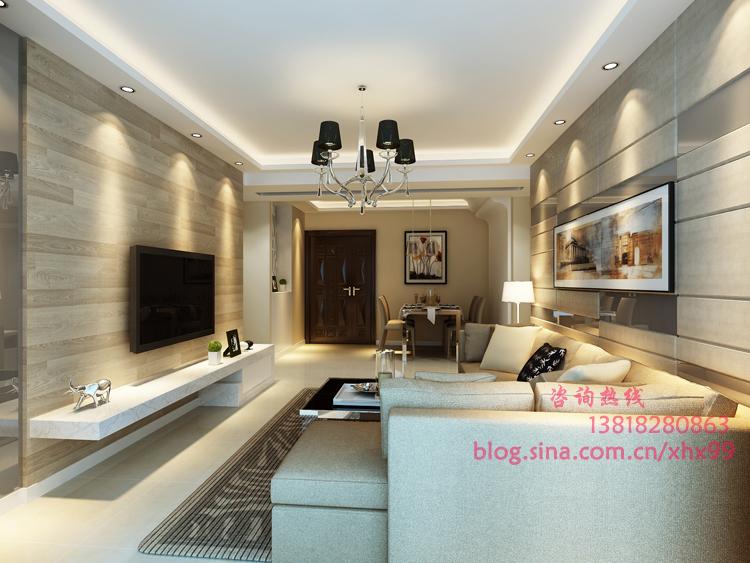 简约 二居 客厅图片来自用户2745807237在简约而简单95平2居纯净而不单调85的分享