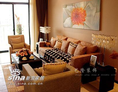 简约 四居 客厅图片来自用户2737782783在艺龙装饰实景二96的分享