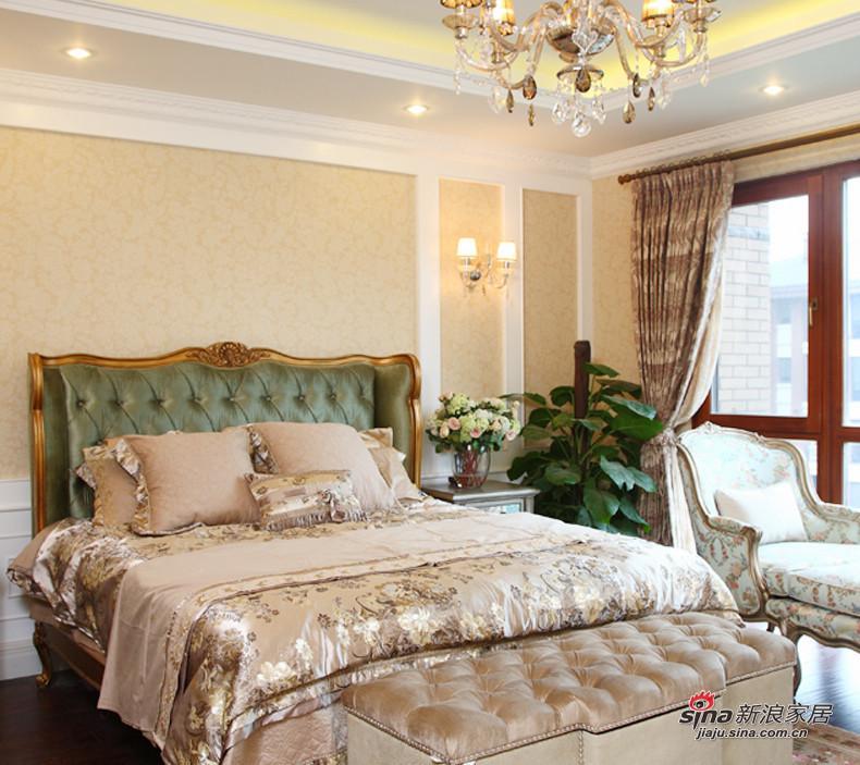 简约 三居 卧室图片来自用户2559456651在8.5万打造100平简约3居婚房48的分享