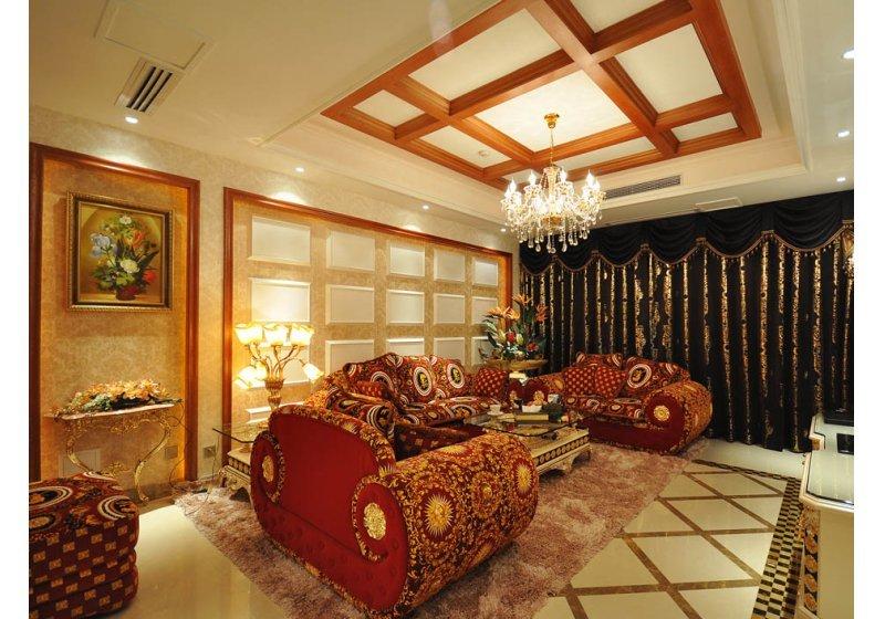 欧式 别墅 客厅图片来自用户2746953981在阿凯笛亚庄园跨越巴洛克89的分享