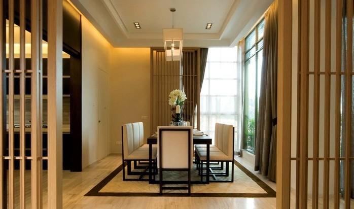 中式 三居 餐厅图片来自用户1907662981在14.5万铸造中式风格160平爱家60的分享