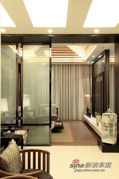 简约 复式 客厅图片来自佰辰生活装饰在走进110平现代日式豪华居62的分享
