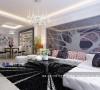 《时尚女王》--现代欧式三房两厅132平米18