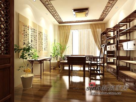 中式 别墅 客厅图片来自用户1907658205在160平米新中式别墅优雅亮相34的分享