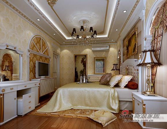 欧式 三居 卧室图片来自用户2746869241在豪华欧式三居40的分享