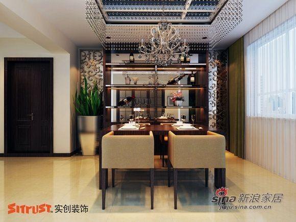 暖色调的装修设计打造保利心语四居室