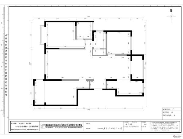 房屋原结构图