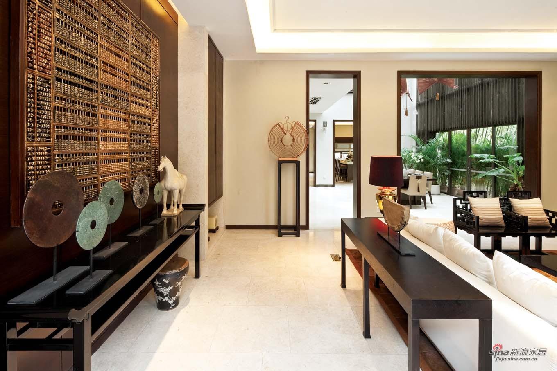 中式 别墅 客厅图片来自用户1907658205在【高清】经典新中式风格样板房67的分享