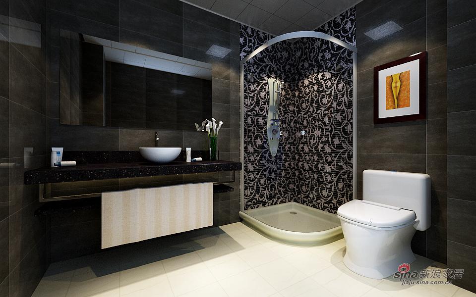 混搭 二居 卫生间图片来自用户1907655435在天津实创装饰-现代混搭41的分享
