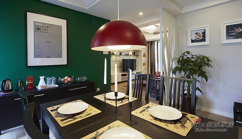 混搭 二居 餐厅图片来自装修微日记在【高清】92平暖暖宜家简约风格空间57的分享