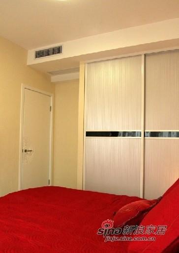 简约 一居 卧室图片来自用户2745807237在4万完美造就59平简约温馨小家89的分享