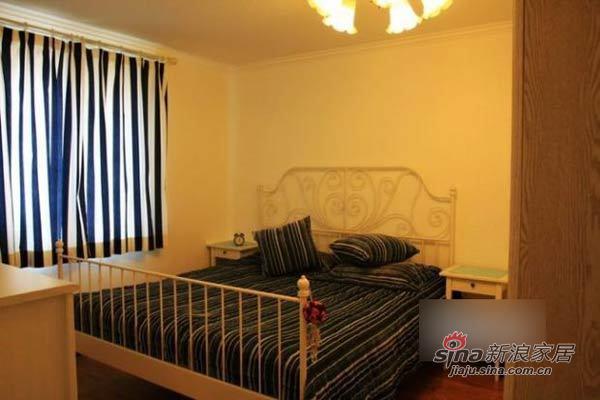 田园 二居 卧室图片来自用户2737946093在巧手MM改装90平温馨田园小窝93的分享