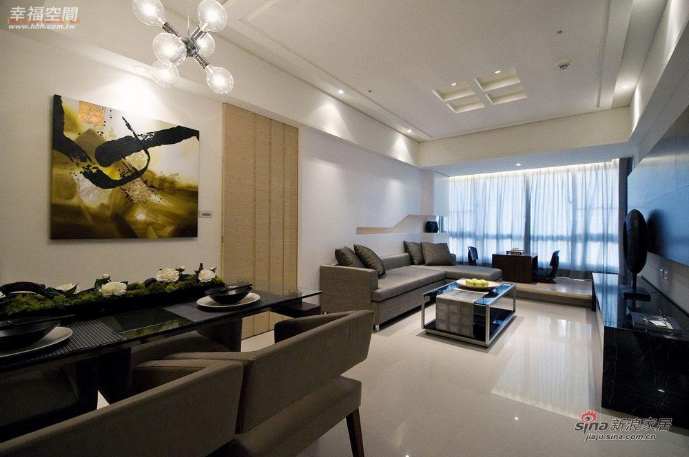 简约 二居 客厅图片来自幸福空间在92平的质朴生活2居美婚房85的分享
