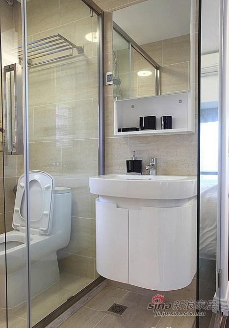 现代 三居 卫生间图片来自用户2771250253在9万装88平艺术爱侣3居86的分享