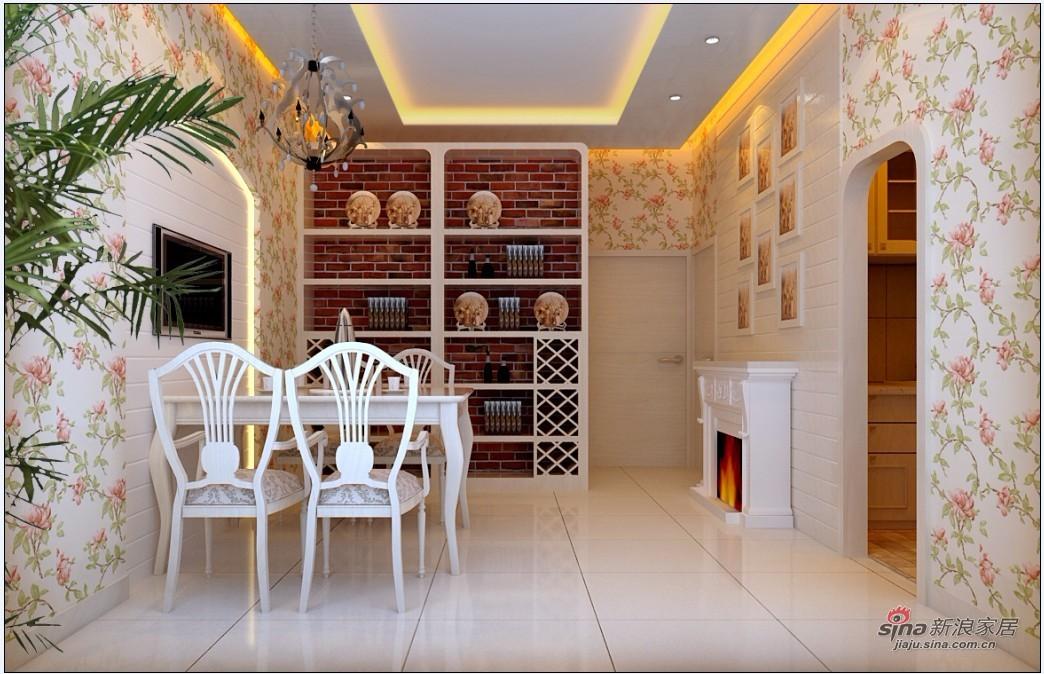 田园 二居 餐厅图片来自用户2737946093在四合上院小区简欧田园2居室90的分享