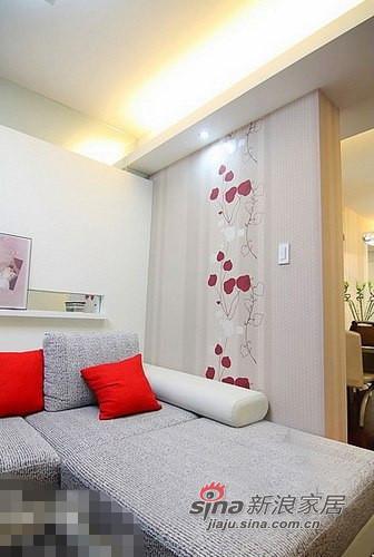 简约 二居 卧室图片来自用户2557979841在清新范儿8万搞定90平两居室83的分享