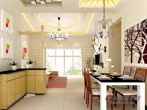 简约 三居 厨房图片来自用户2739153147在7万简约110平温馨三口之家49的分享