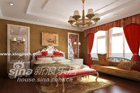 欧式 别墅 卧室图片来自用户2746953981在依云湾14的分享