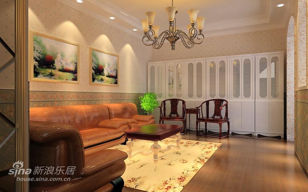 欧式 别墅 客厅图片来自用户2746869241在春天气息的欧式风情22的分享
