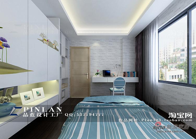 简约 四居 卧室图片来自用户2739378857在【高清】16万装149平锦绣华城现代简约99的分享