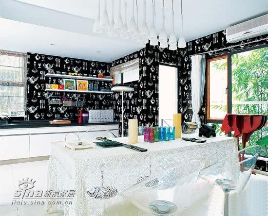 黑白空间+前沿家具