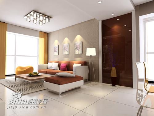 简约 三居 客厅图片来自用户2738820801在简约复式作品99的分享