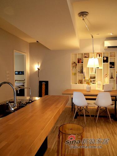 美式 二居 餐厅图片来自用户1907686233在打造简约美式100平79的分享