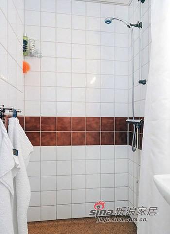 北欧 一居 卫生间图片来自用户1903515612在爱侣5W装修40平北欧风94的分享