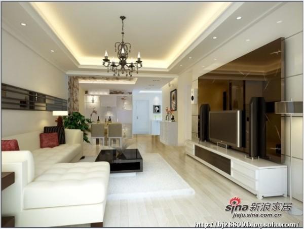 简约 三居 客厅图片来自用户2737782783在小巧妈花8万打造145㎡简约温馨3居22的分享