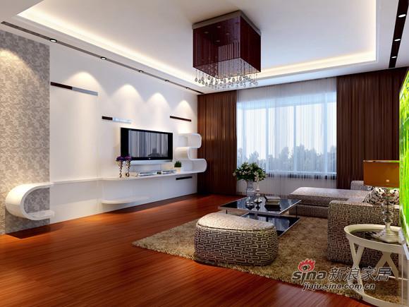 简约 三居 客厅图片来自用户2737782783在7万打造130平米3居室清新简洁32的分享