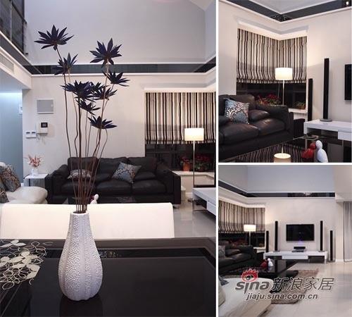 优雅的一个小复式公寓,只花5W