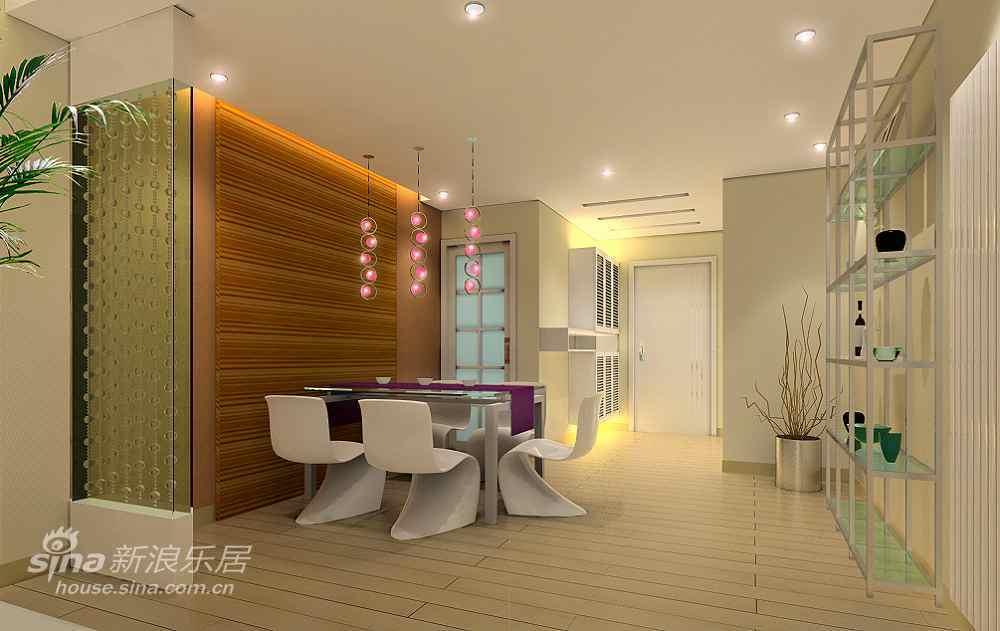 简约 三居 餐厅图片来自用户2557979841在明亮时尚简约设计51的分享