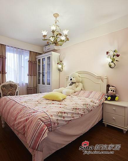 简约 四居 卧室图片来自用户2738820801在【多图】150平首开·熙悦山64的分享