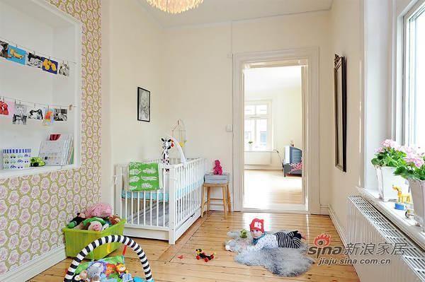 欧式 三居 儿童房图片来自用户2757317061在北欧风格公寓 优雅而精致27的分享