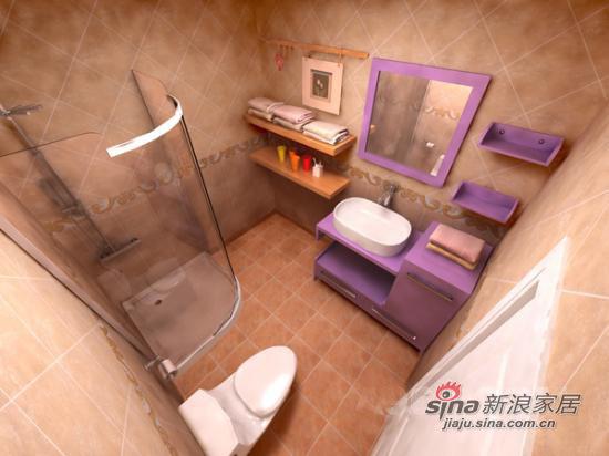 中式 二居 卫生间图片来自用户1907658205在华丽精美中式古典风格41的分享