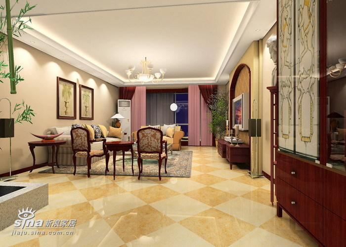 欧式 三居 客厅图片来自用户2746953981在颐清家园47的分享