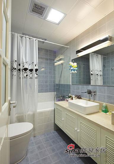 简约 三居 卫生间图片来自用户2737782783在小夫妻5.8万大造110平简约三居室94的分享