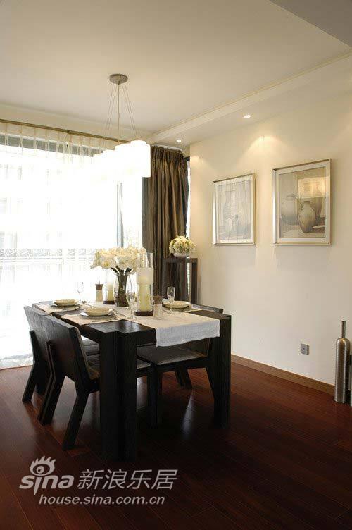 简约 二居 餐厅图片来自用户2737735823在6万装120平简约富贵家45的分享
